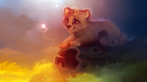 Cute Cheetah Wallpaper
