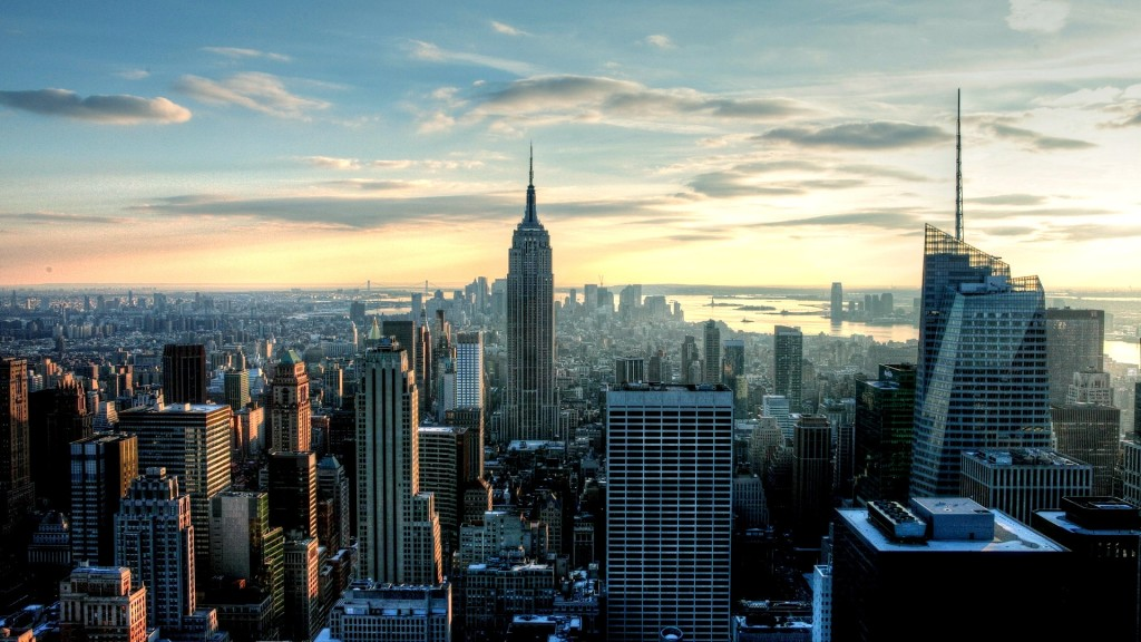 Empire State City Wallpaper HD
