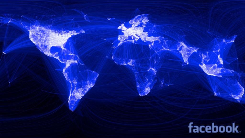 Facebook World Network Wallpaper