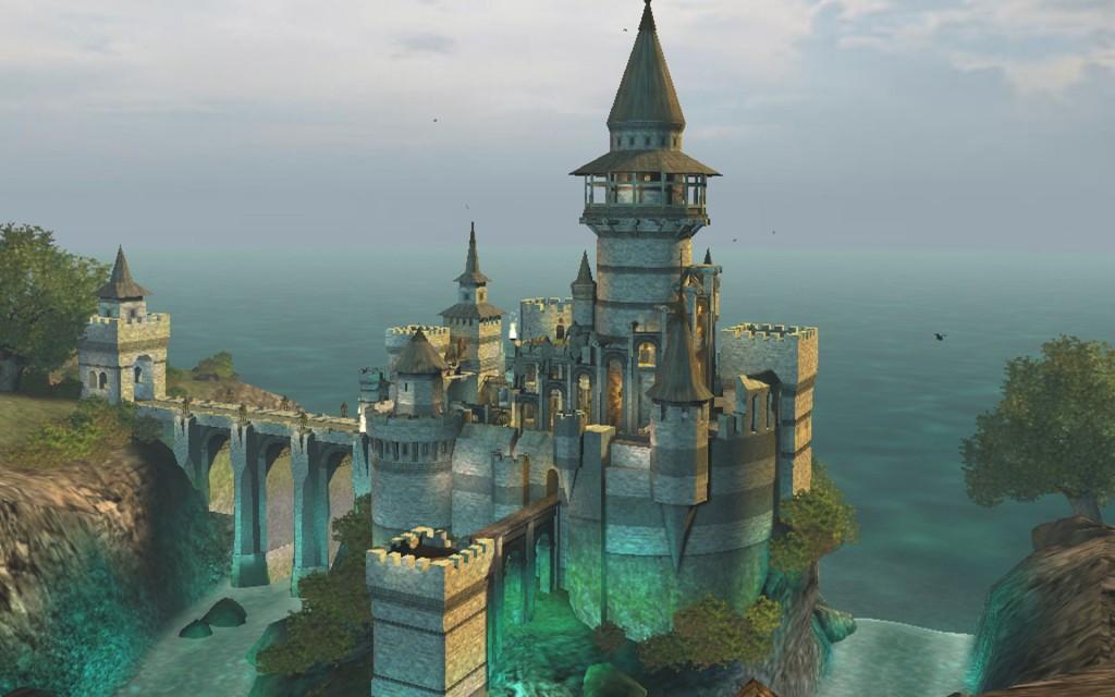Fantasy Castle Wallpaper HD