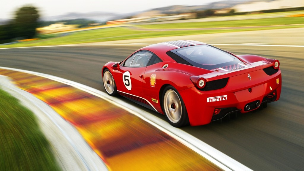 Ferrari 458 Challenge Wallpaper