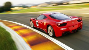 Ferrari 458 Challenge Wallpaper
