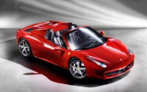 Ferrari 458 Spider 2012 Wallpaper