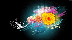 Flowers Vector Wallpaper