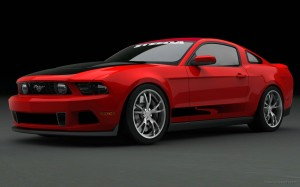 Ford Mustang at SEMA Wallpaper