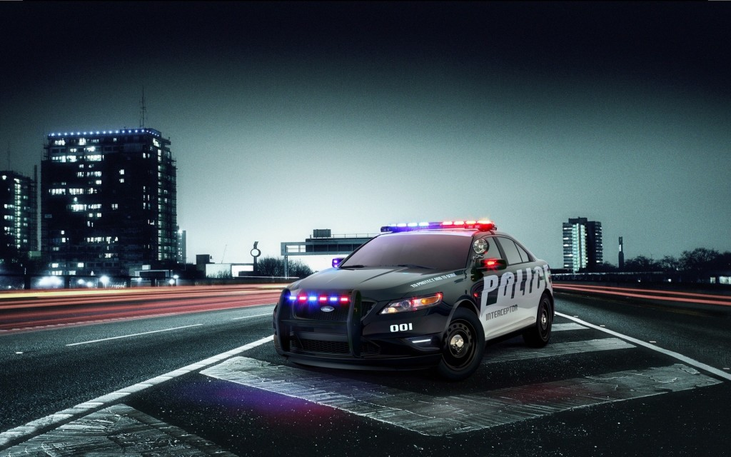 Ford Police Interceptor Wallpaper