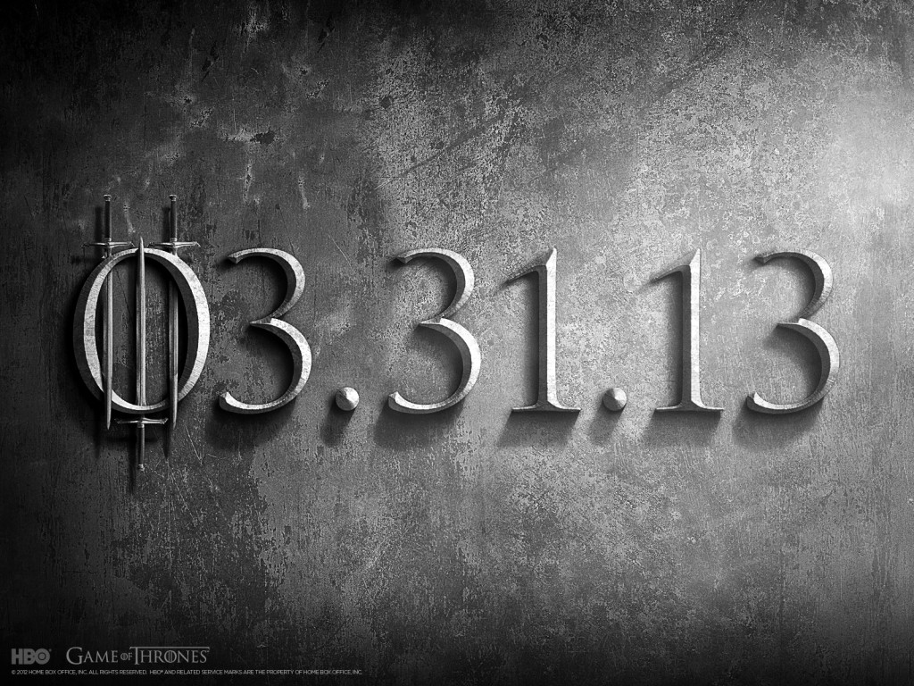 Game of Thrones Season 3 Wallpaper