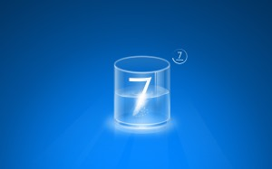 Glass Windows 7 Wallpaper