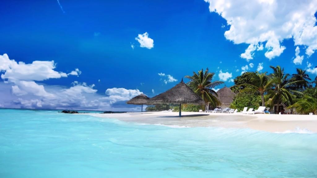 HD Landscape Beach HD Wallpaper