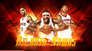 Hawks Big 3 2013 Wallpaper