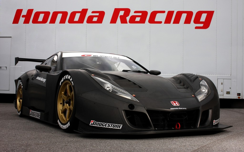 Honda Super GT Racer Wallpaper
