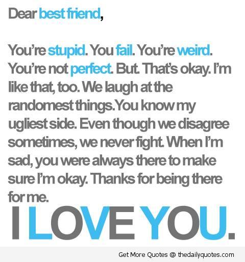 I Love You Friends