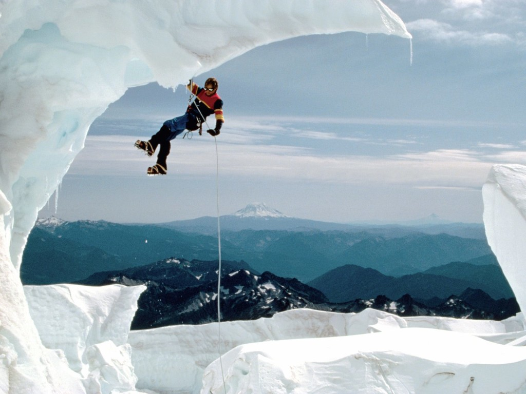 Ice Climbing Wallpaper