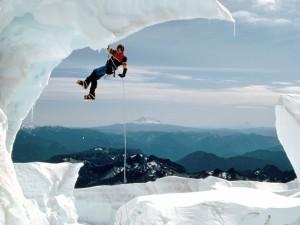 Ice Climbing Wallpaper