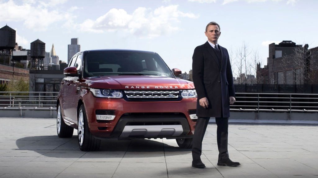 James Bond Range Rover Sport Wallpaper