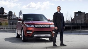 James Bond Range Rover Sport Wallpaper