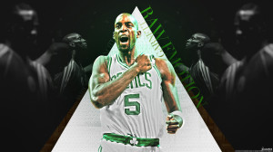 Kevin Garnett Celtics 2013 Wallpaper