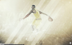 Kyrie Irving Behind The Back Wallpaper