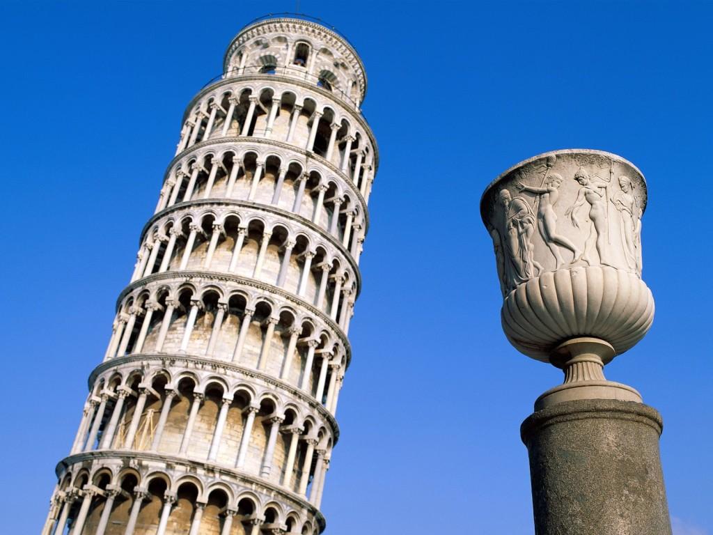 Leaning Tower Pisa Wallpaper