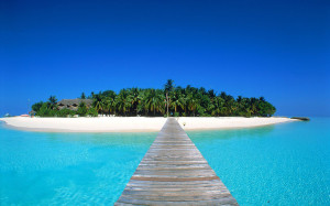 Maldiven Beach HD Wallpaper
