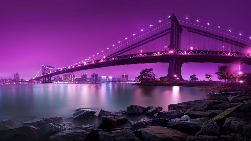 Manhattan Bridge New York City Wallpaper