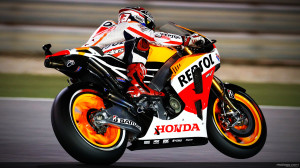 Marc Marquez MotoGP 2013 Background Wallpaper