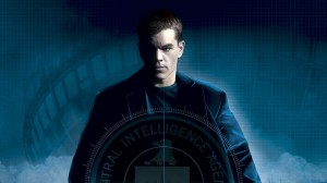 Matt Damon in Bourne Wallpaper