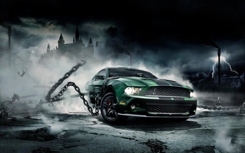Mustang Monster Wallpaper