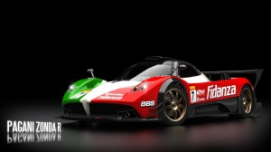 NFS Pagani Honda R Wallpaper