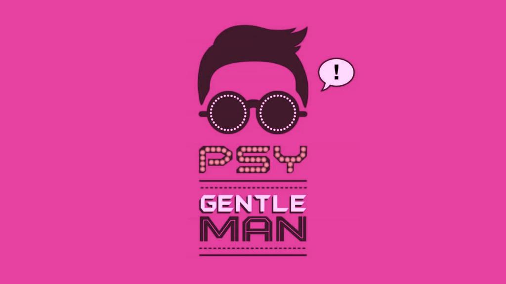 New PSY Gentleman Background Wallpaper