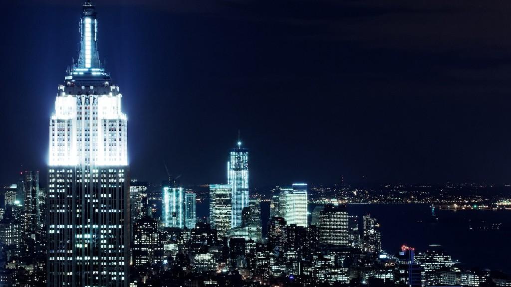 New York City Nights Wallpaper