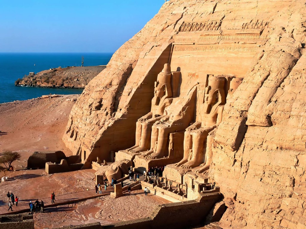 Nubian Abu Simbel Wallpaper