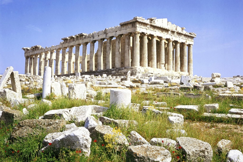 Parthenon Acropolis Athens Wallpaper
