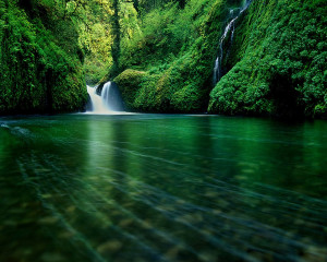 River Waterfall Wallpaper