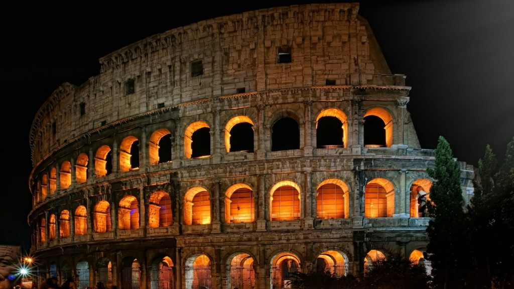 Roman Colosseum Wallpaper HD