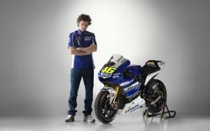 Rossi Yamaha 2013 Wallpaper HD