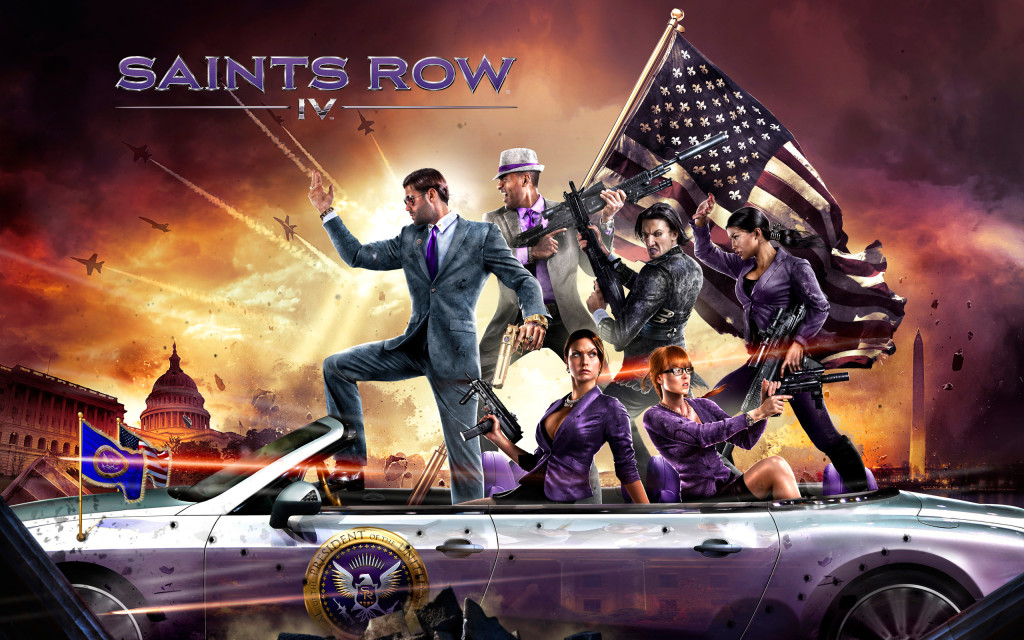 Saints Row 4 Wallpaper