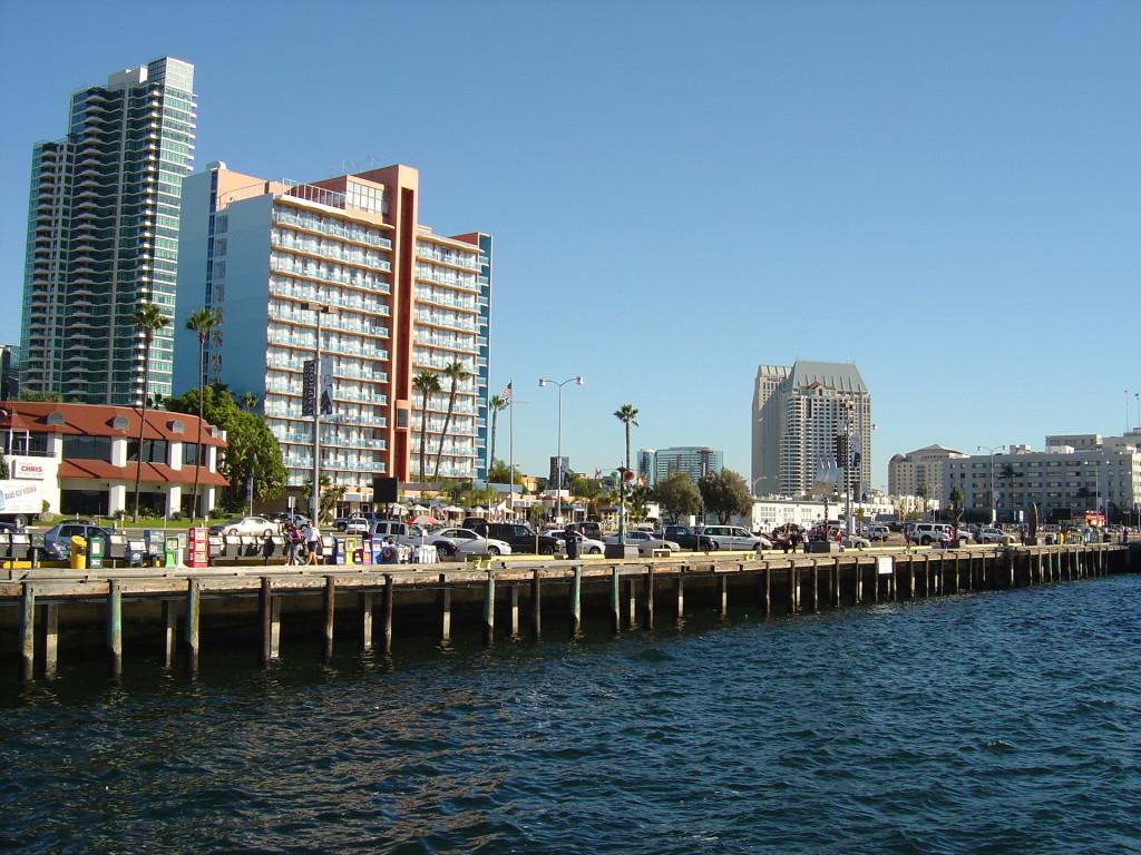 San Diego Harbor Wallpaper