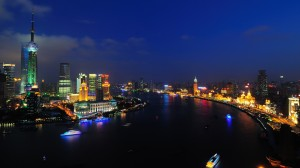 Shanghai Huangpu River Wallpaper