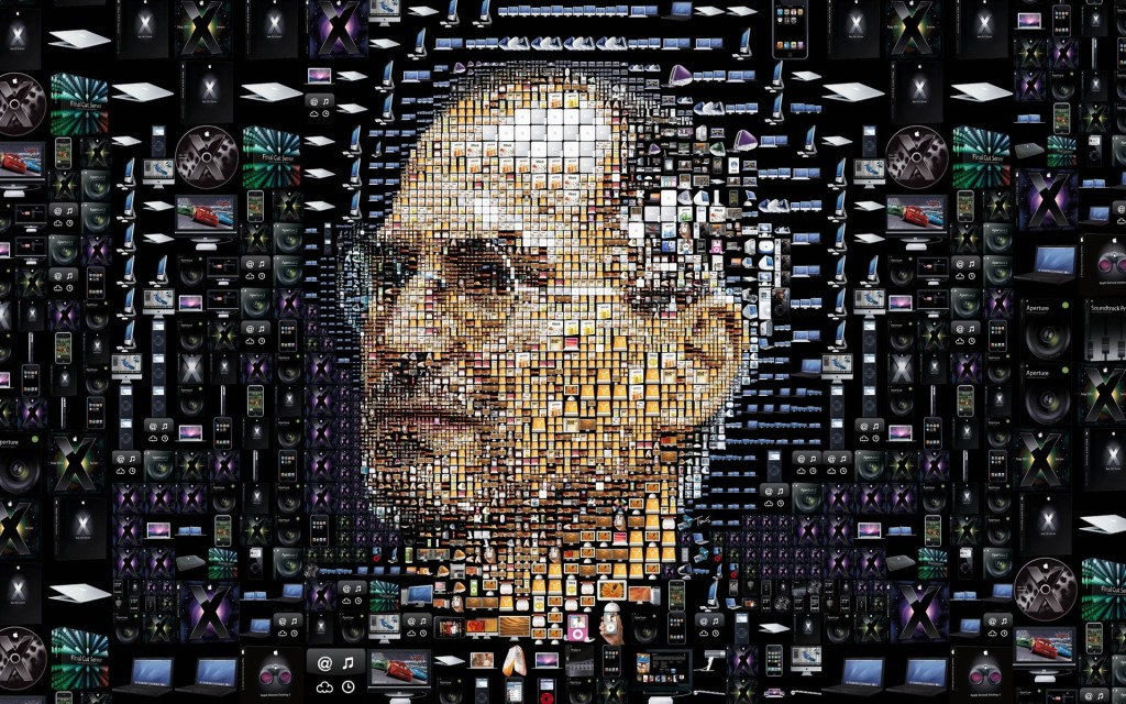 Steve Jobs Commemorative Wallpaper