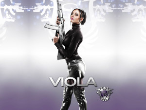 Viola Saints Row 4 Wallpaper