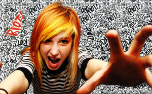 Wallpaper Hayley William Paramore