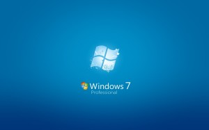 Windows 7 Professional Wallpaper