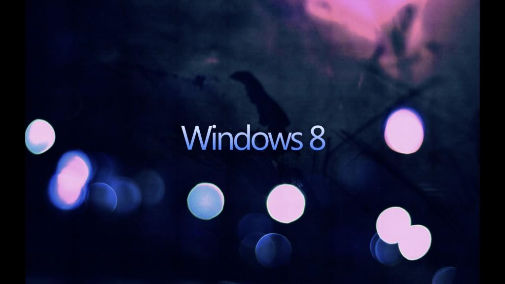 Windows 8 Dark Wallpaper
