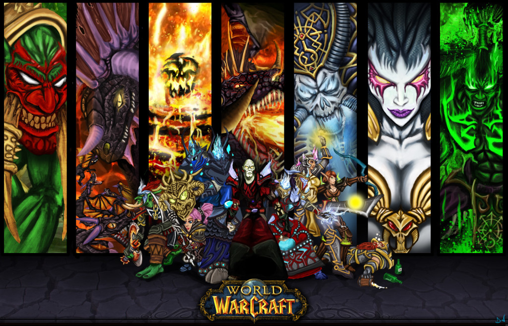 World of Warcraft Games Wallpaper
