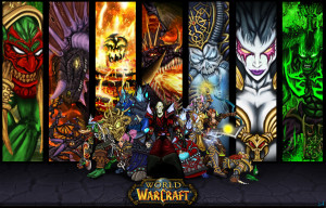 World of Warcraft Games Wallpaper