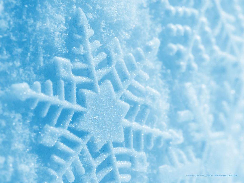 Xmas Snowflake Wallpaper