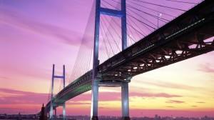 Yokohama Bay Bridge Japan