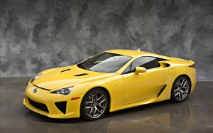 Lexus LFA 2012 Car Wallpaper