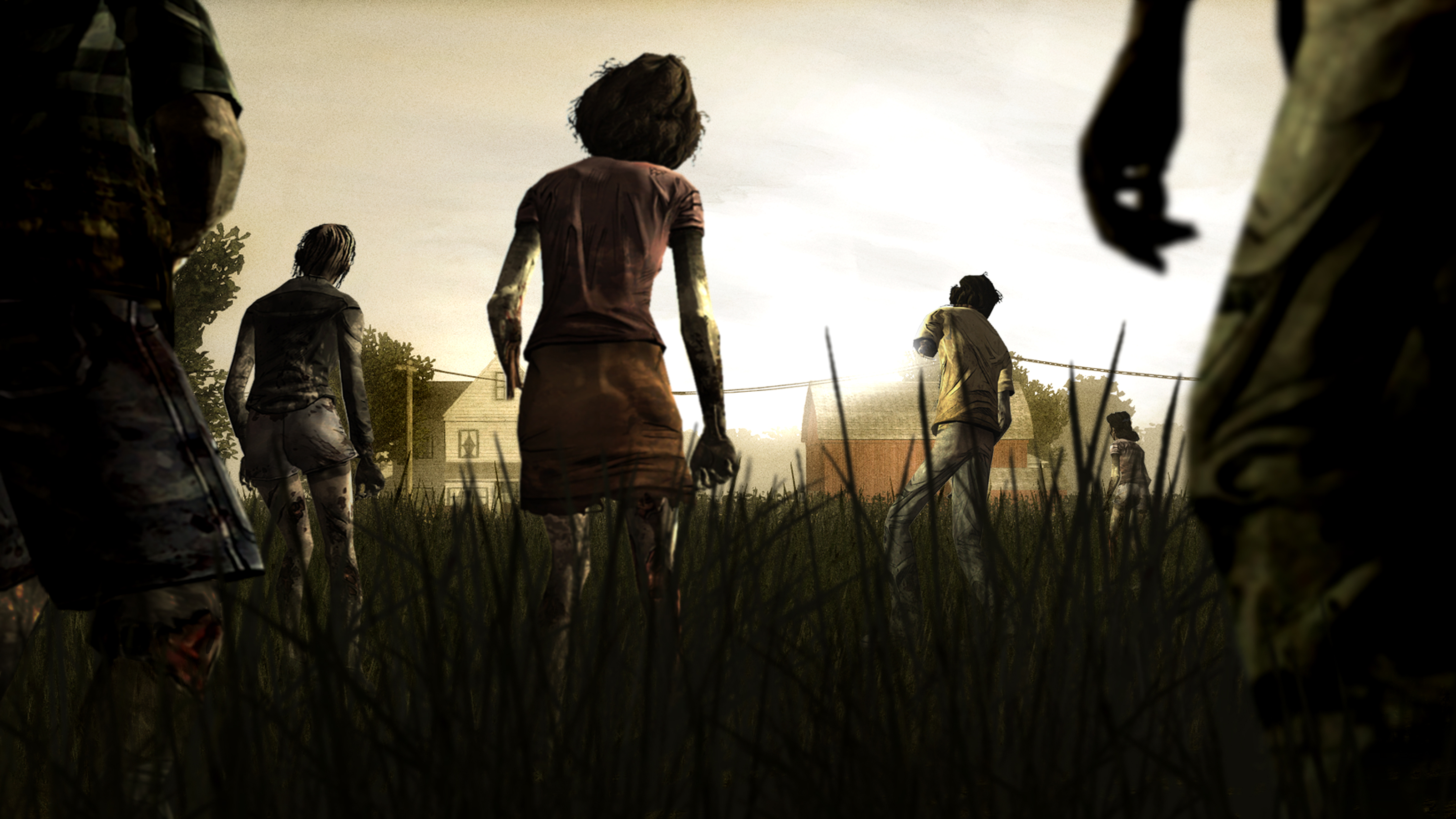 zombie The Walking Dead game wallpaper | Wallpup.com